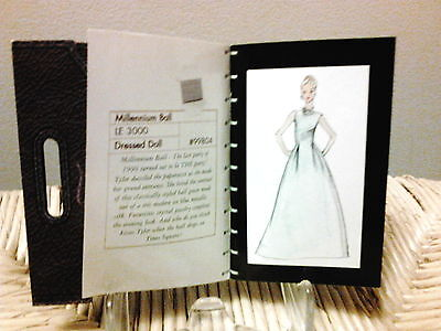 2 /Nu 1st Ed Tonner Tyler Portfolio Fashions 21 pgs. 1 day ONLY FRE US SHPg 6-22