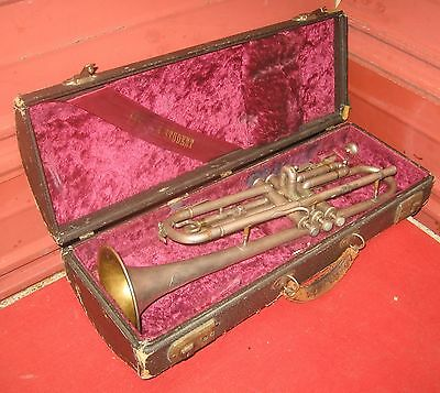 "1930s ""American Student"" Bohland-Fuchs Trumpet. Peashooter. Repair Project."
