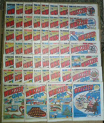 52 Vintage Whizzer & Chips Comics 1982 * Complete Year * IPC Publishing
