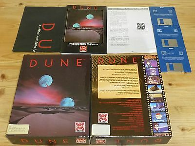 Dune inc. Poster - Commodore Amiga (Tested)
