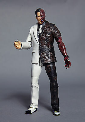 DC Universe Two-Face Figure from Arkham Legacy Edition Two-Pack loose