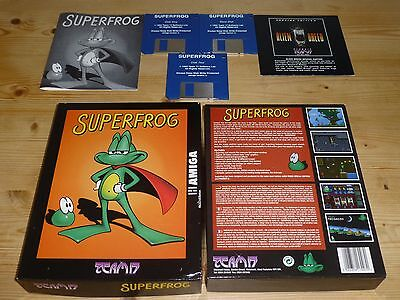 Superfrog - Commodore Amiga (Tested)