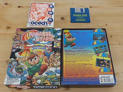 Parasol Stars - Commodore Amiga (Tested)