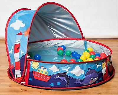Baby toddler child inflatable beach play paddling pool for Pop up paddling pool