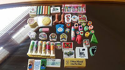 Eraser Collection   items in great condition never been used