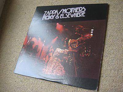 Frank Zappa & The Mothers - Roxy & Elsewhere USA 1st Issue WINCHESTER PRESS LP