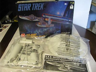 1995 AMT ERTL Star Trek Cut-Away USS Enterprise NCC-1701 New Old Stock  #TW