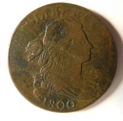 1800 Draped Bust Cent S-206 R-3