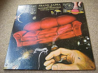 Frank Zappa & The Mothers - One Size Fits All 1st Issue WINCHESTER PRESS USA LP