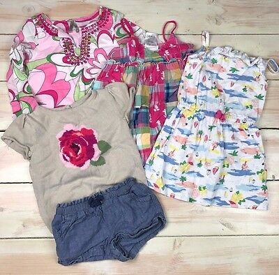 Girl Summer Clothes Lot Size 3T Old Navy Carters Disney World
