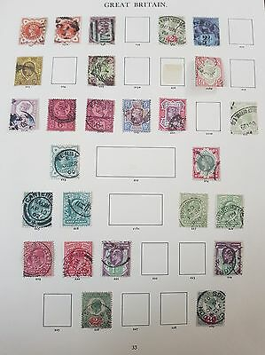 Gb Stamps  Queen Victoria Jubilee Issue Set + Extras Used (5)