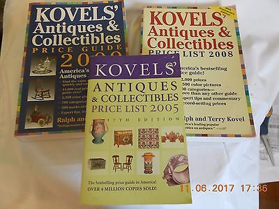Books Research Antiques & Collectibles Kovel's Price Guides