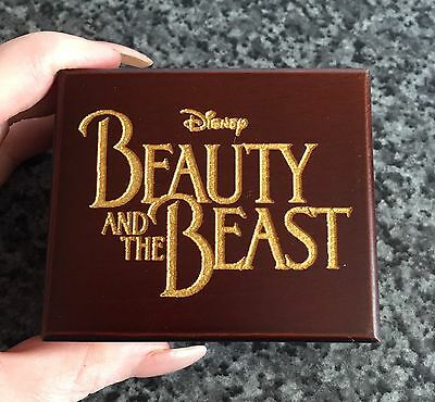 Disney Beauty And The Beast Wind Up Music Box, Tale As Old As Time, UK Seller