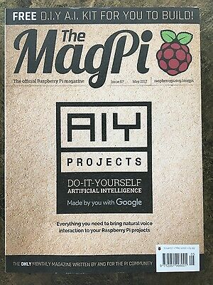 MagPi Magazine Issue 57 With Google AIY - May 2017 - unopened Brand new