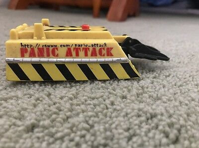 ***robot Wars Toy Pull Back Panic Attack Loose Rare***