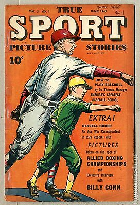 True Sport Picture Stories Vol. 3 (1945) #1 GD 2.0