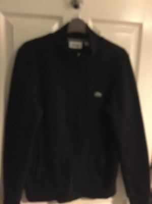 Men's Lacoste Black Casual Jacket