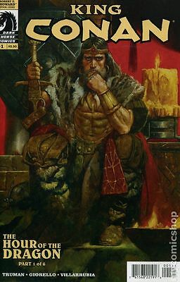 King Conan: Hour of the Dragon #1 Dark Horse 2013 Sanjulian Variant Cover 1:5