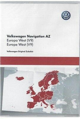 BARGAIN! 2017 VW SKODA SEAT RNS315 NAVIGATION MAP SD-Card V9 UK & WEST EUROPE