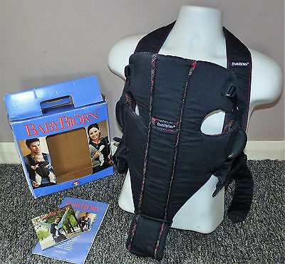 Baby Bjorn Original Baby Carrier, Boxed, Good Clean Used Condition
