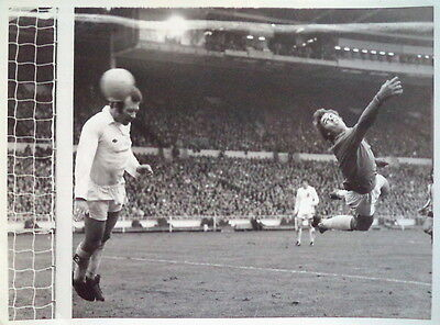 Leeds United F. A. Cup Final 1973 At Wembley Photograph