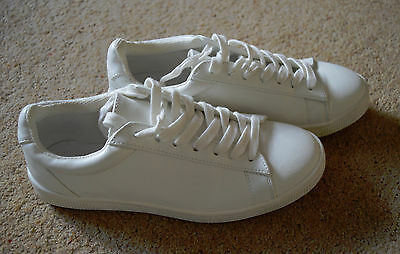 New Look White Trainers Size 5