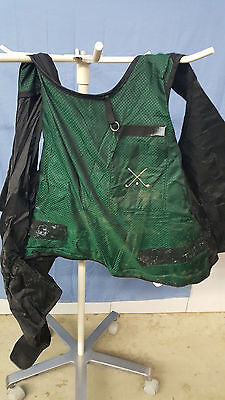 X-ray Protective Apron no Lead vest  Burlington Superlite Enviro-lite
