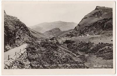Vintage Rp Postcard,nantlle Valley & Snowdon, Rhyd-Ddu,wales,1955,frith Series