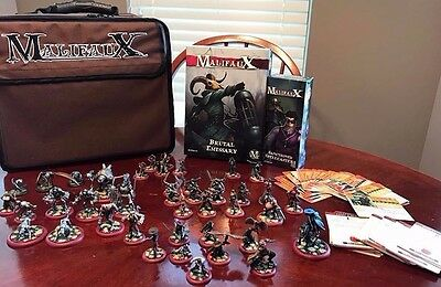 Malifaux Guild collection- Painted GREAT value