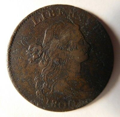 1800 Draped Bust Cent S-204 R-4