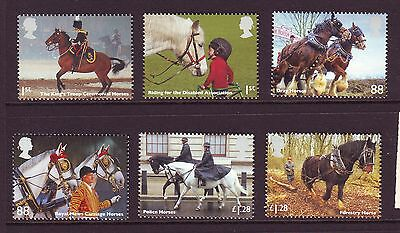 2014 Horses Set U/m - Below Face