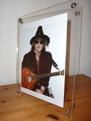 Ritchie Blackmore (Deep Purple) Signed Photo / COA / Framed