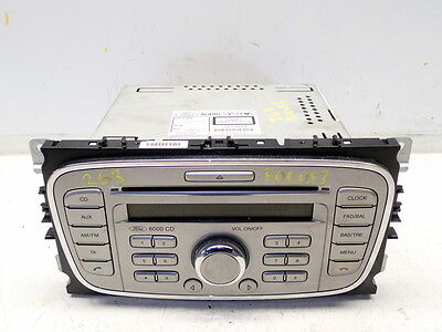 Stereo Cd Player Genuine - code unknown -09 Ford Focus Mk2 1.6 Facelift (Ref.263