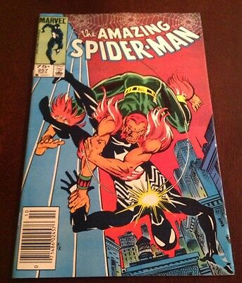Amazing Spiderman #257 High Grade Issue. 75¢ Canadian Price Variant / Edition