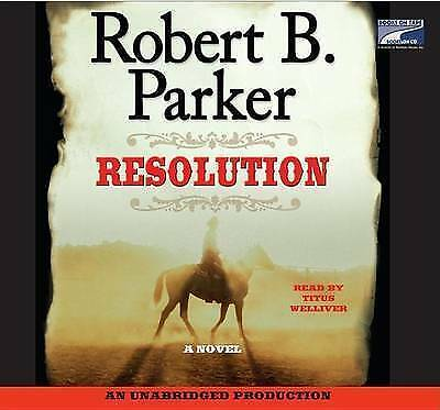 Resolution by Robert B Parker  paperback book