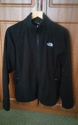 Women's Black North Face Fleece Jacket Size Large