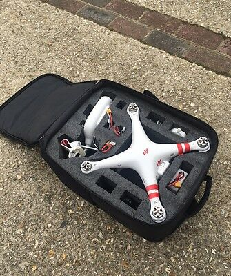 Phantom 2 Drone With 4 x Battery's, Carry Case, Spares, Camera, Works Perfect!!!