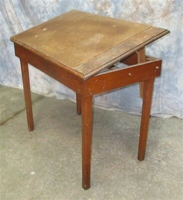 Thomas Truck & Caster Wooden Tilt Top Drafting Table Keokuk Iowa Study Library