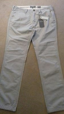 BNWT Fat Face mens grey trousers 36 long