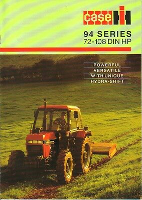CASE Magnum 94 Series Brochure. Immaculate Condition.