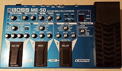 Boss ME-50 Multi-Effects Guitar Effect Pedal