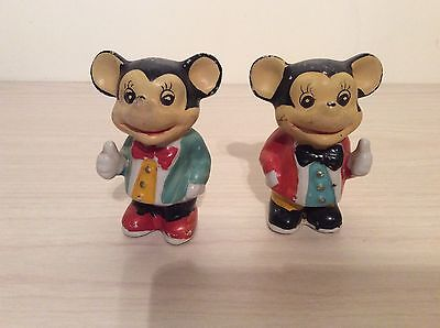 Vintage Early Mickey Mouse Figures/ornaments 1940's?