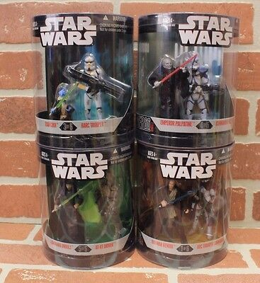 Lot of 4 Star Wars Series 2 Order 66 Action Figures MIB