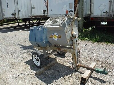 Stone 655Pmp Towable 6 Cu Ft Poly Drum Mortar Mixer W/ 5.5 Hp Briggs Engine!