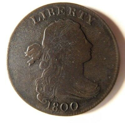 1800 Draped Bust Cent S-200 R-3