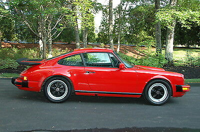 1985 Porsche 911 911 Carrera Coupe Rare 2 Owner Meticulously Maintained 1985 Porsche 911 Carrera Coupe w/Whale Tail
