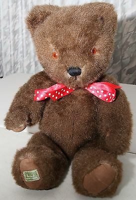 Merrythought Bear: large, dark brown, jointed