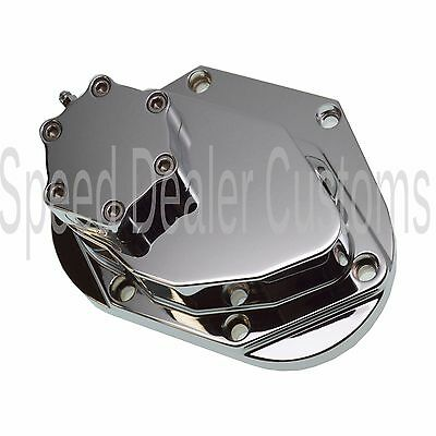 Speed Dealer Customs CFL 5 or 6 speed Hydraulic Clutch Housing End Cover Chrome