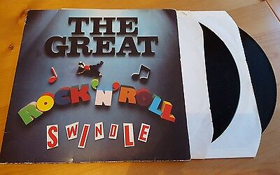 Sex Pistols - The Great Rock 'N' Roll Swindle Double LP Vinyl Album Original