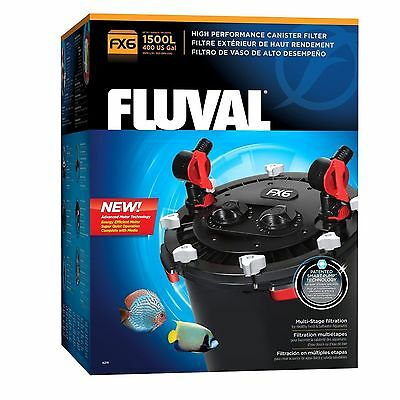 Fluval Fx6 Aquarium Canister Filter Package With $59.99 Gravel Vacuum Rebate